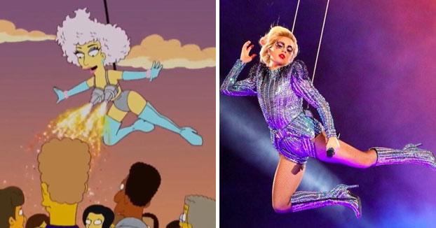 Los mejores memes sobre la actuación de Lady Gaga en la Super Bowl