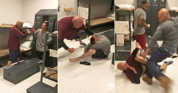 Un preso 'Ñeta' defiende a un joven que estaba siendo agredido por otro preso