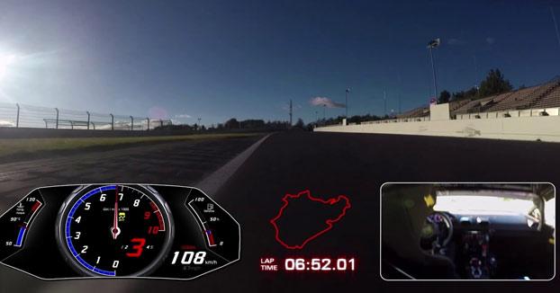 El Lamborghini Huracán Performante bate el récord de Nürburgring con esta brutal vuelta