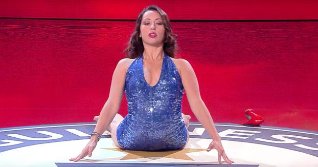 Leilani Franco bate su propio récord Guinness de contorsionismo