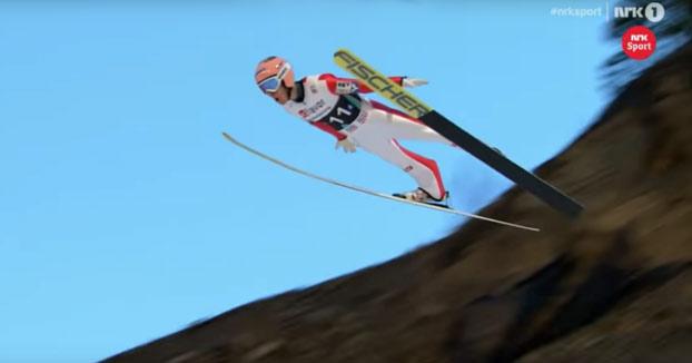 Stefan Kraft: Nuevo récord de salto de esquí con 253,5 metros