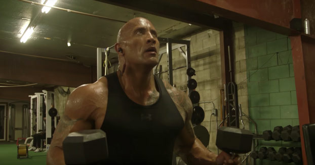 El entrenamiento diario de Dwayne Johnson ''The Rock''