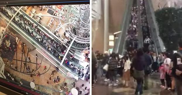 18 personas heridas después de que una escalera mecánica cambiase de dirección repentinamente