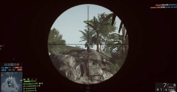 Esquivando balas en el Battlefield 4 like a boss