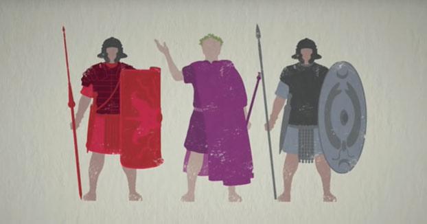 Así era la estructura del ejército romano