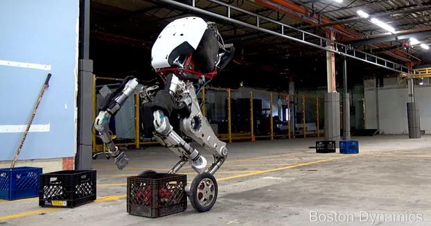 Boston Dynamics presenta a su nuevo robot que es capaz de saltar como un humano