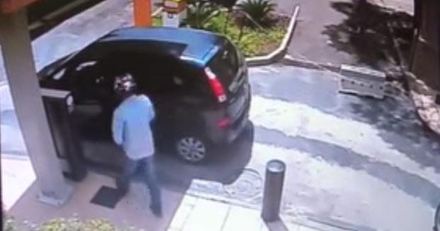 El trágico final de un ladrón que intentó robar a punta de pistola al conductor equivocado