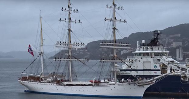La épica llegada de este barco a Noruega tras tres meses cruzando el Atlántico