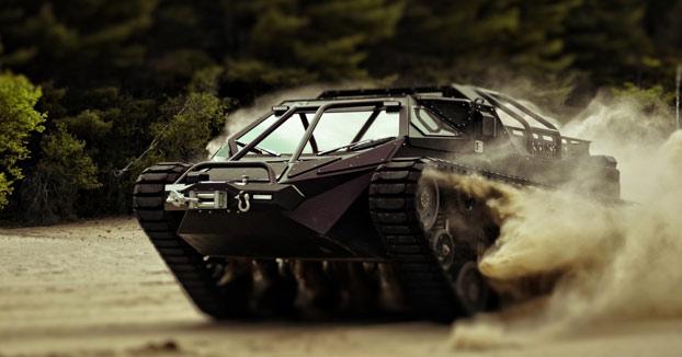 Ripsaw EV2: El super tanque de lujo para civiles