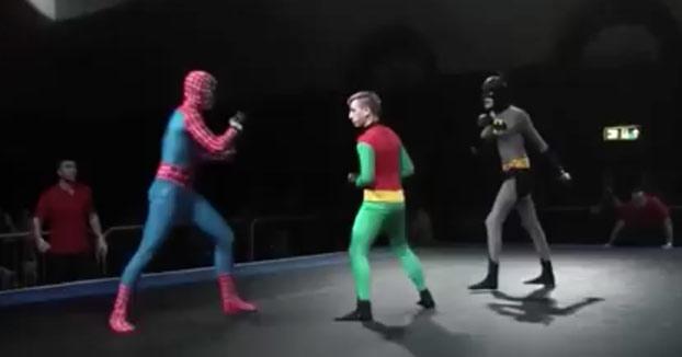 SUPERFIGHT!: Spiderman vs Batman vs Robin