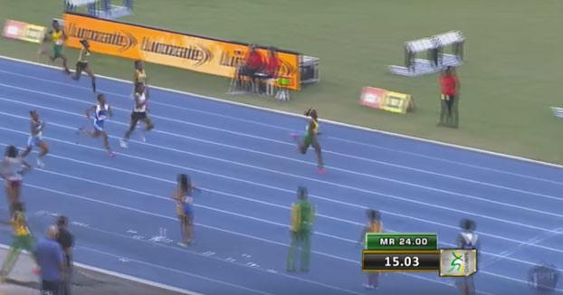 La sucesora de Usain Bolt: La niña jamaicana de 12 años que acaricia el récord mundial