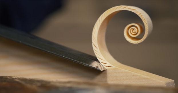 Paul Sellers: Creando espirales de Fibonacci con un formón
