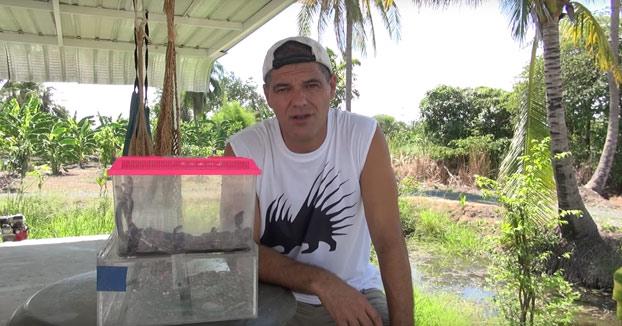 Frank rescata 60 serpientes letales con destino España