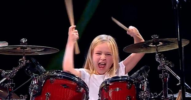 Johanne Astrid Poulsen, de 10 años de edad, ganadora de Got Talent Dinamarca