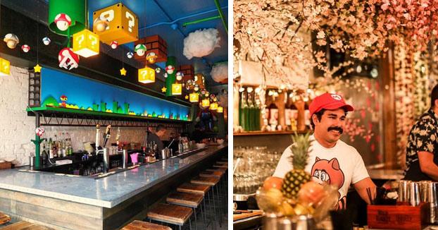 Si viajas a Washington D. C. no te olvides de ir al Mario Bar