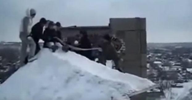 Ya desde pequeños los rusos están locos, pero muy locos