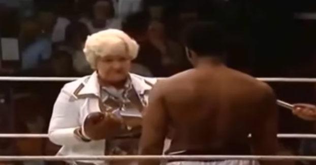El día en el que una abuela derrotó a Muhammad Ali