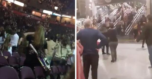 Atentado en el Manchester Arena: Vídeo del momento de la explosión