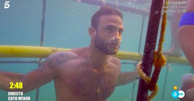 Un concursante de Supervivientes casi se ahoga en directo en una de las pruebas