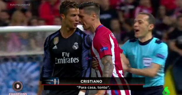 Pique entre Cristiano Ronaldo y Fernando Torres: ''¿Qué te pasa payaso?'', ''Para casa, tonto''