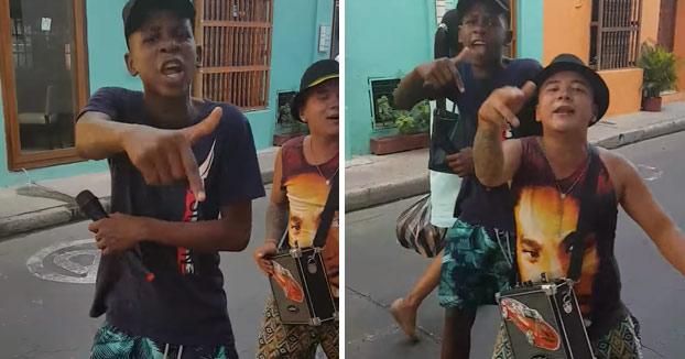 Estos chicos son la auténtica sensación en Colombia con su carisma mientras rapean