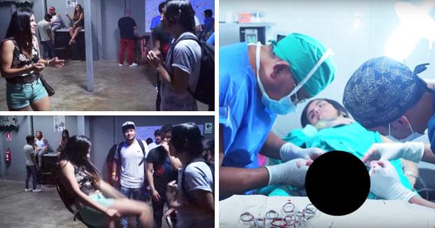 Youtuber juega con una chica a 'Beso o patada en los huevos' y acaba en el hospital y le quitan un testículo