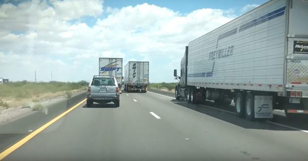 El camionero justiciero