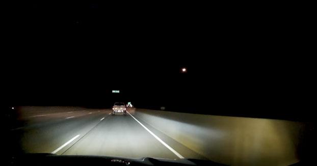 Vas conduciendo tranquilamente por la carretera cuando de repente