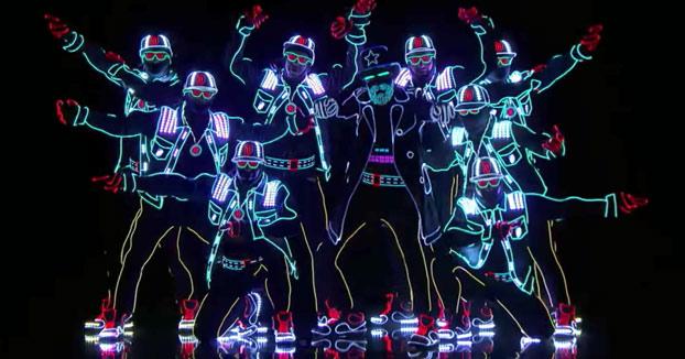 Light Balance: Impresionante espectáculo con luces en America's Got Talent