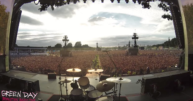 Más de 60.000 personas cantando Bohemian Rhapsody en un concierto de Green Day en Londres