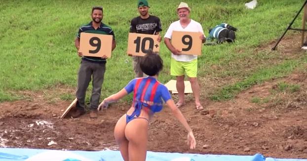 Mientras tanto, en la tele brasileña: Ahogando el ganso. ¿Cuando lo veremos en España?