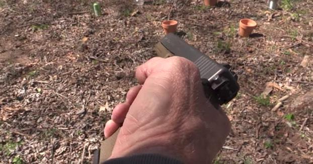 Glock 17, una metralleta con forma de pistola