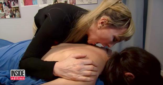 La inquietante forma de esta mujer para dar masajes a sus clientes
