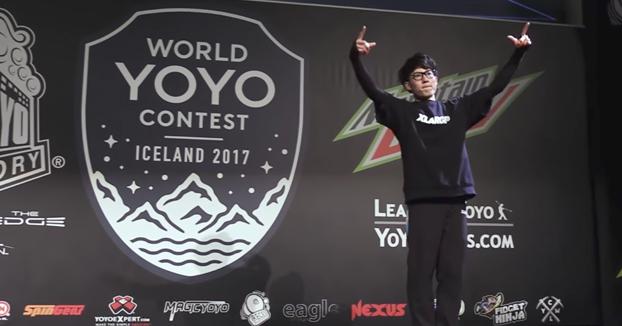 La exhibición del campeón mundial de yo-yo que te dejará con el culo torcido