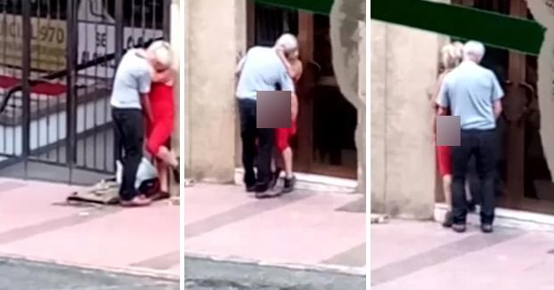 Abuelos fogosos: Multados por tener relaciones en plena calle de Telde, en Gran Canaria