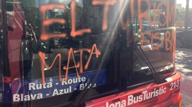 ataque bus turistico barcelona