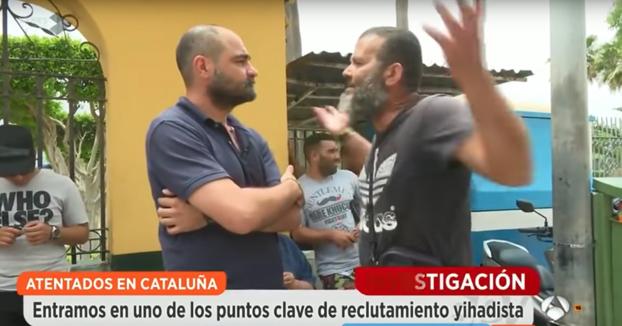 Musulmán en Espejo Público aplaude los atentados. ''Estamos hartos de los españoles y los cristianos''