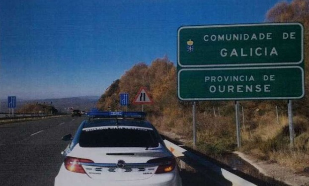 hombre intenta sobornar guardia civil