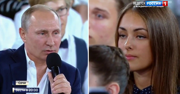 Putin explica porque no usó paraguas durante el homenaje a las víctimas de la II Guerra Mundial
