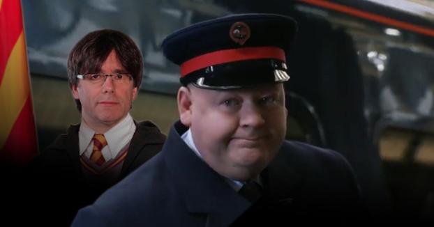 Harry Potter en realidad es Carles Puigdemont y quiere celebrar el Referéndum en Cataluña