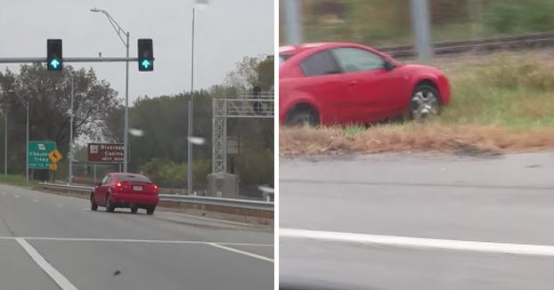 Karma instantáneo: Se ríen del accidente de otro conductor y sufren ellos otro