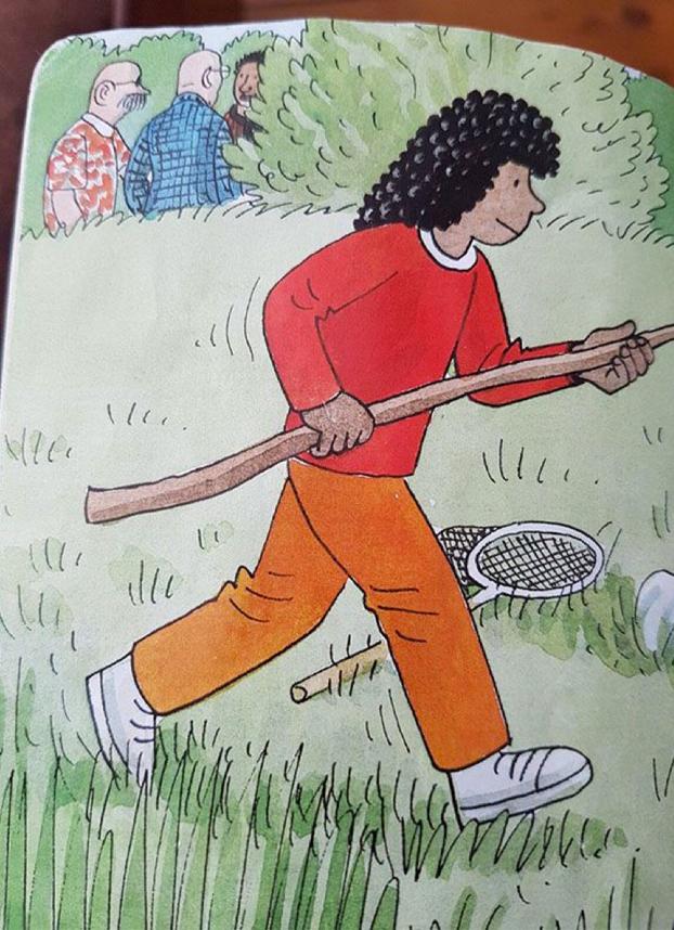 Este ilustrador de libros infantiles manda mensajes sorpresa para entretener a los padres que leen los cuentos a sus hijos