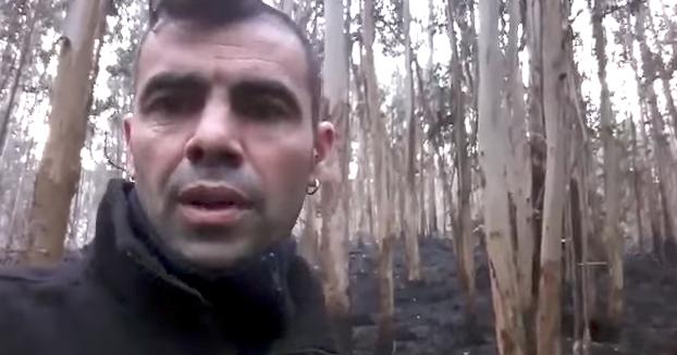 Nada de tramas ni de locos: Este joven explica cómo se originaron los incendios en el centro de Vigo