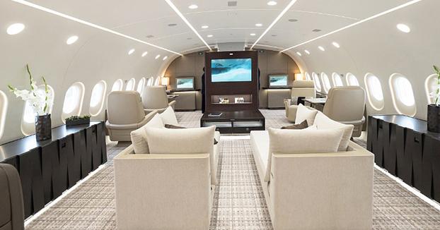 Recorrido por el Boeing 787-8 VIP, el jet privado más espectacular del mundo