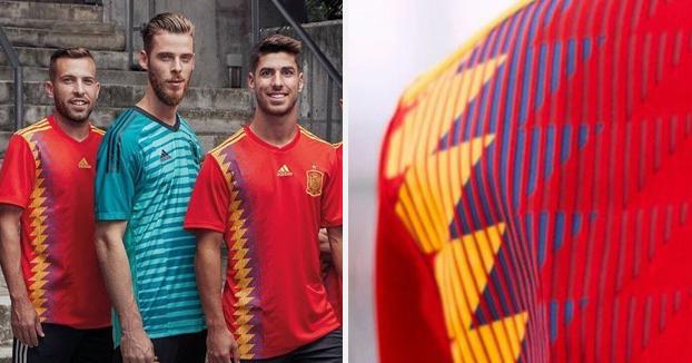 Polémica por la nueva camiseta de la Selección Española
