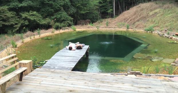Cómo hacer una piscina natural