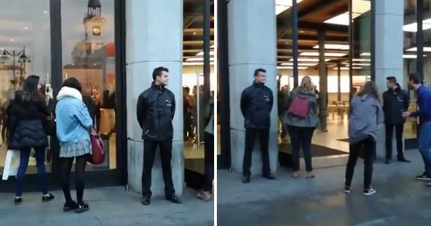 Se vende el primer iPhone X en la Puerta del Sol y la reacción da un poco de vergüenza ajena