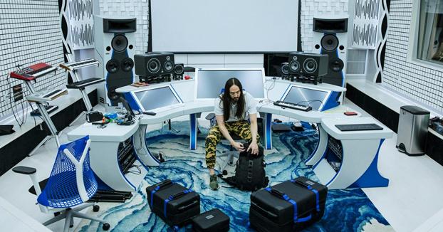 La casa de Steve Aoki en Las Vegas