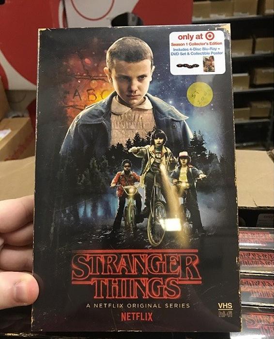 Netflix hace una edición especial de la primera temporada de Stranger Things espectacular