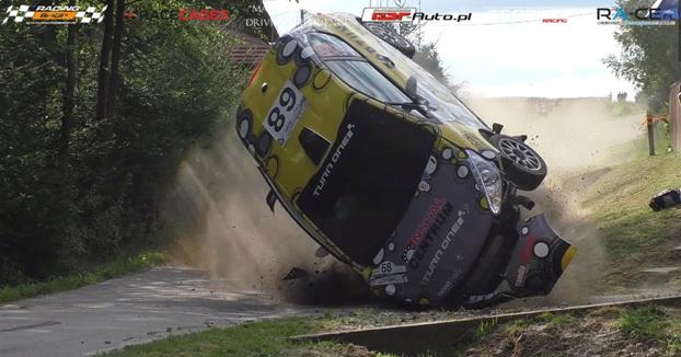 Recopilación de los accidentes que hubo en los rallys de 2017